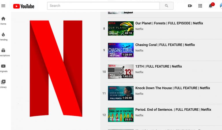 Netflix 10 Belgeselini Ücretsiz İzlemeye Açtı